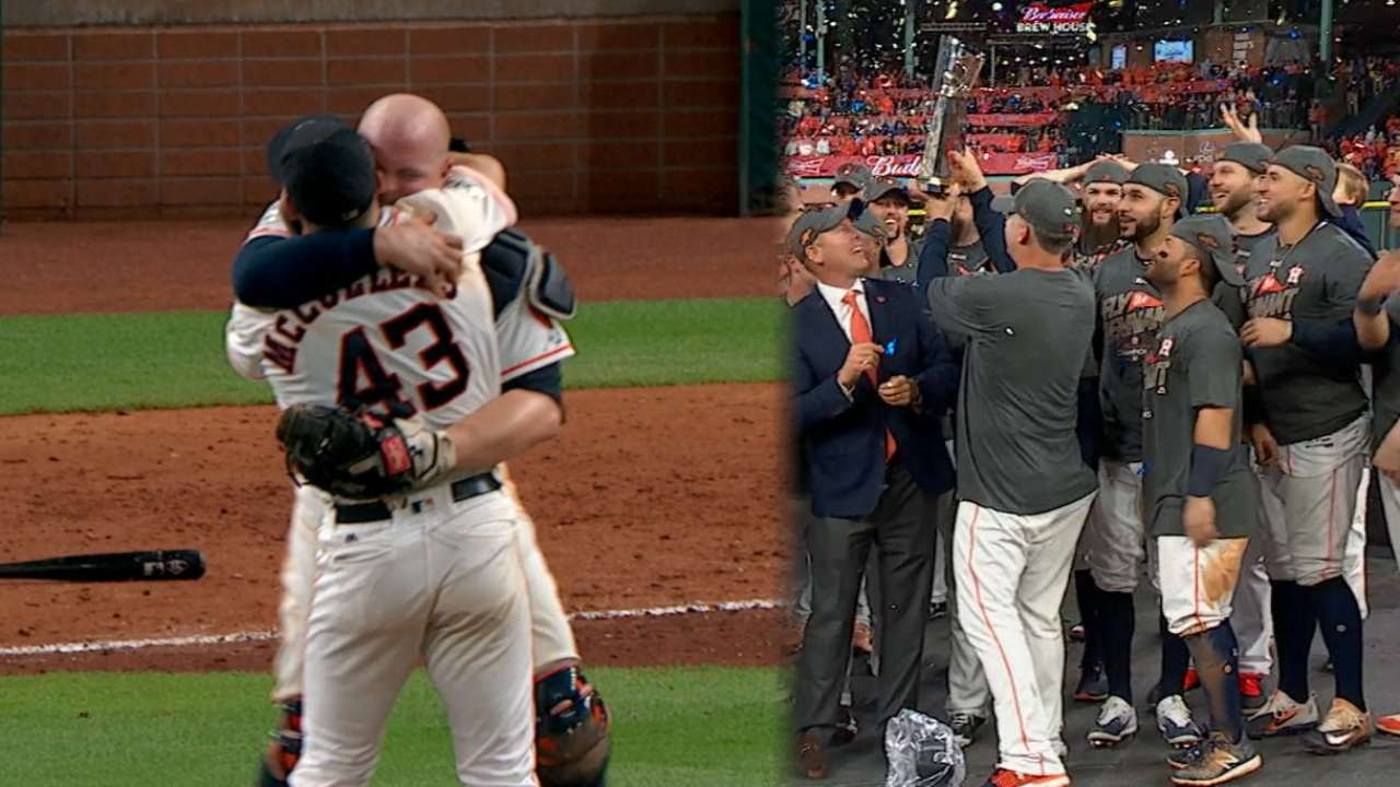 Y'all Classic! Astros oust Yanks in historic G7