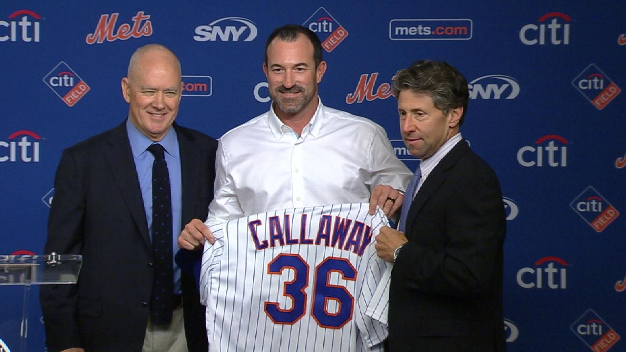 Callaway named Mets manager