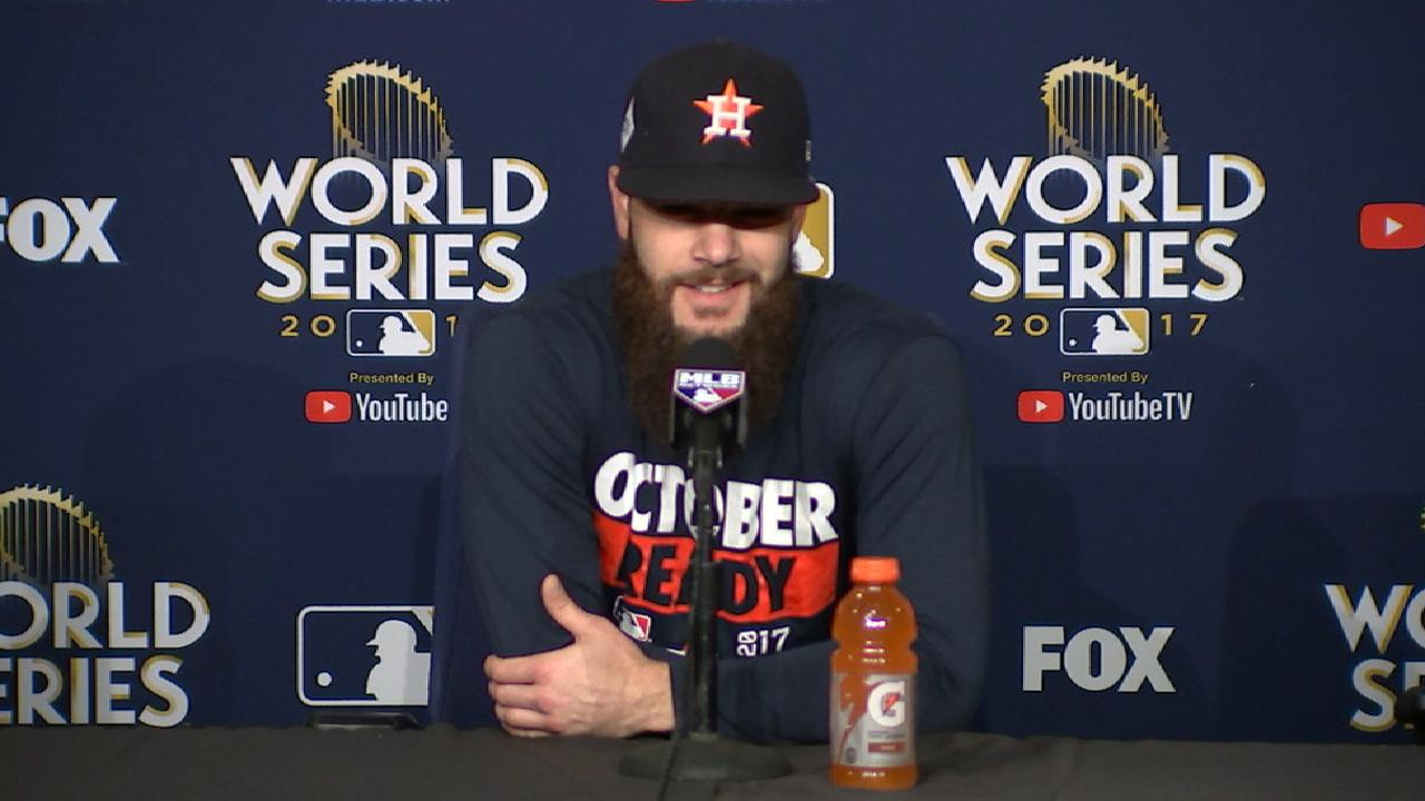 Keuchel on Dodgers' offense