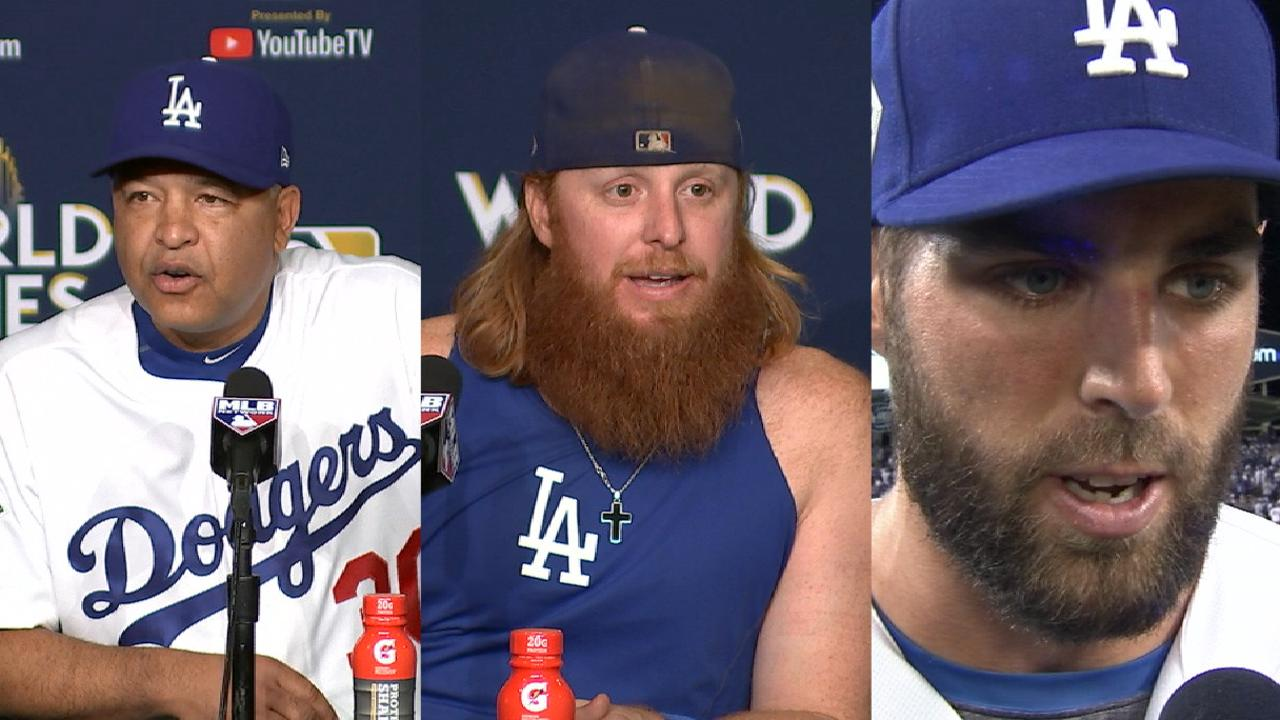 Dodgers on Kershaw's outing