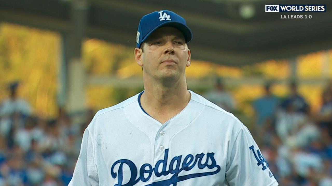 Rich Hill tratará de mantener con vida a los Dodgers en el Juego 6