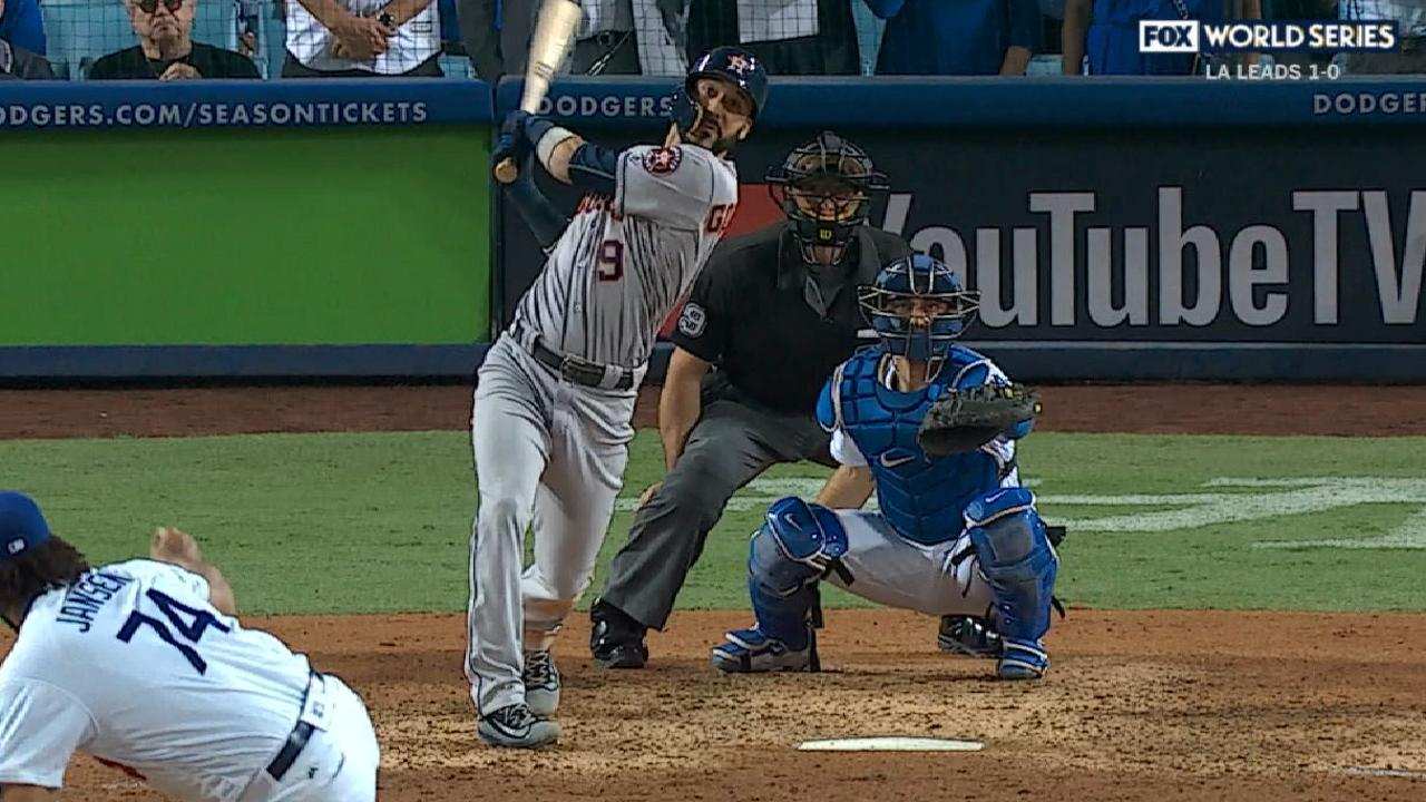 Gonzalez's homer ties game