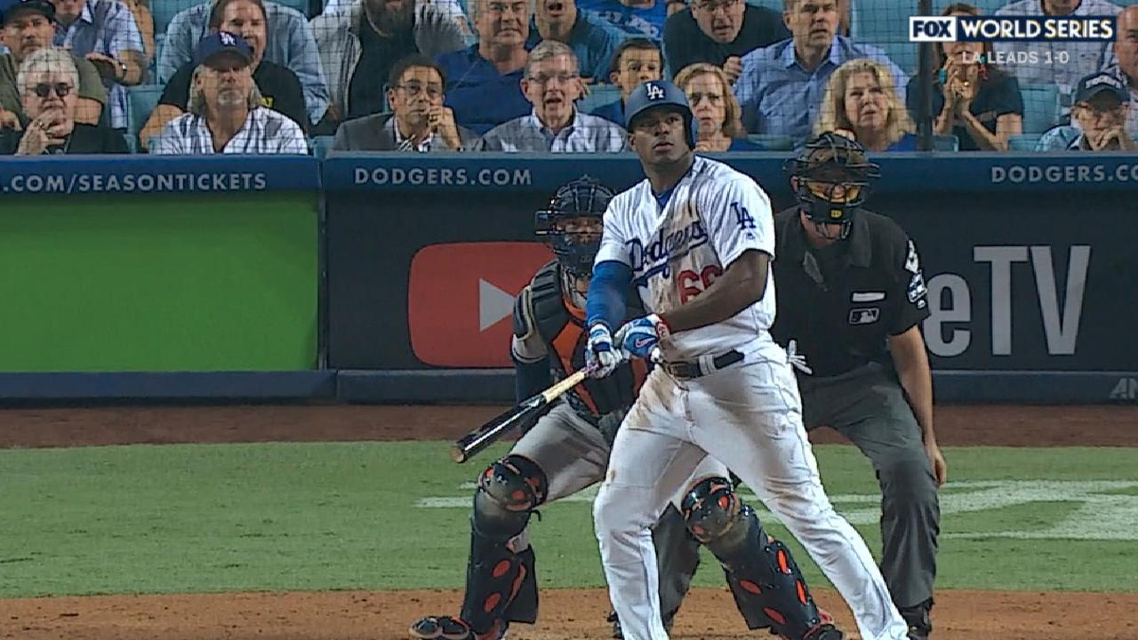 Puig's solo home run in the 10th