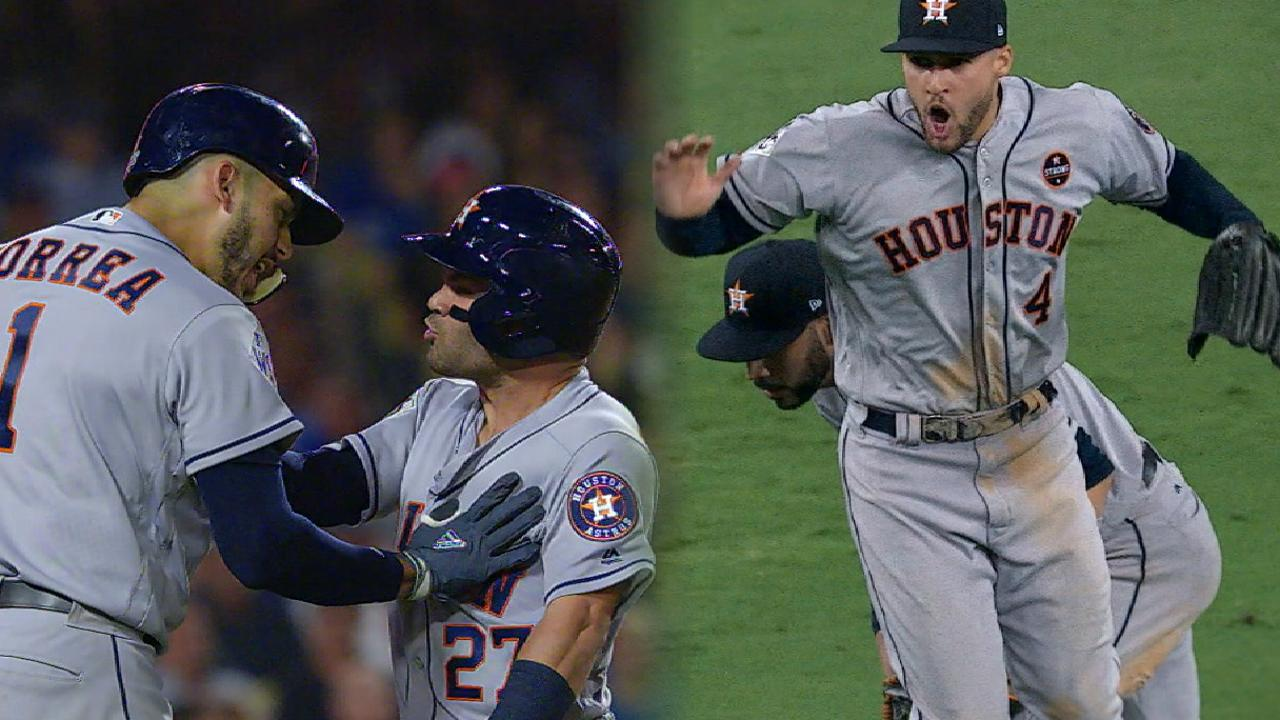 Astros outlast Dodgers in WS Gm2