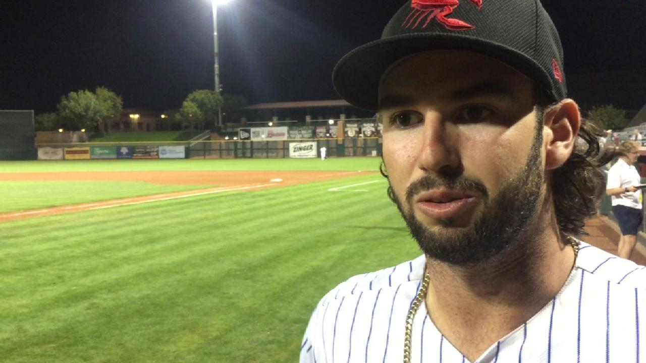 Mets' Nido finding himself at the dish in AFL