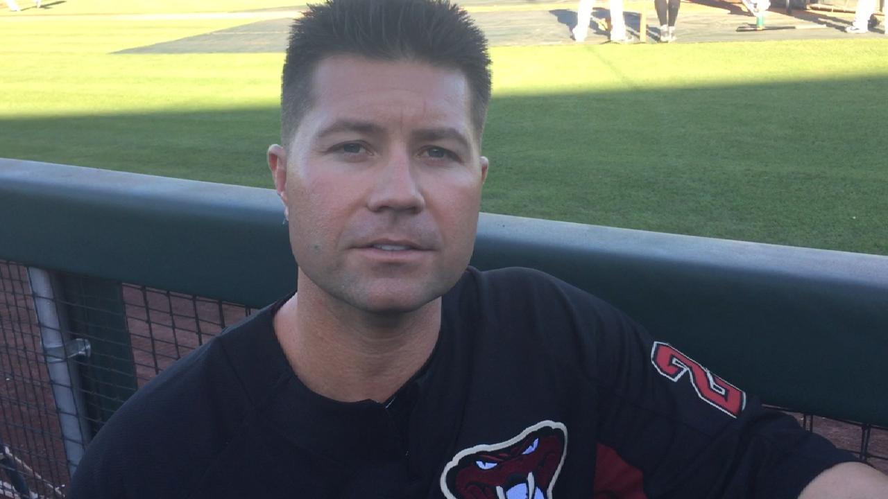 D-backs' Atkinson takes unlikely path to AFL