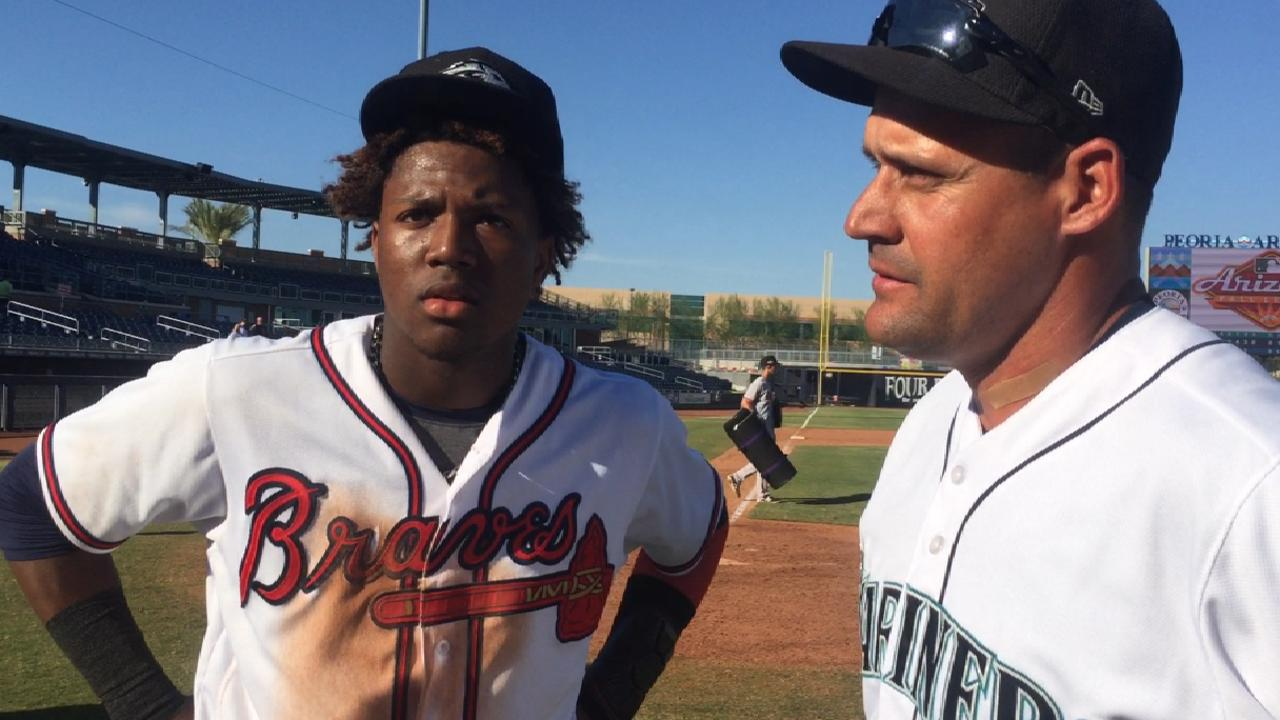 Top prospects Acuna, Riley turn heads in AFL