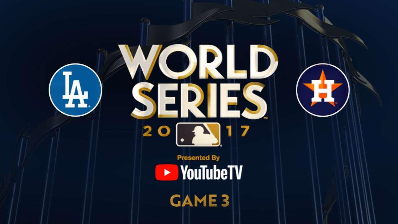 10/27/17: Astros atacan temprano y toman ventaja de la serie, 2-1