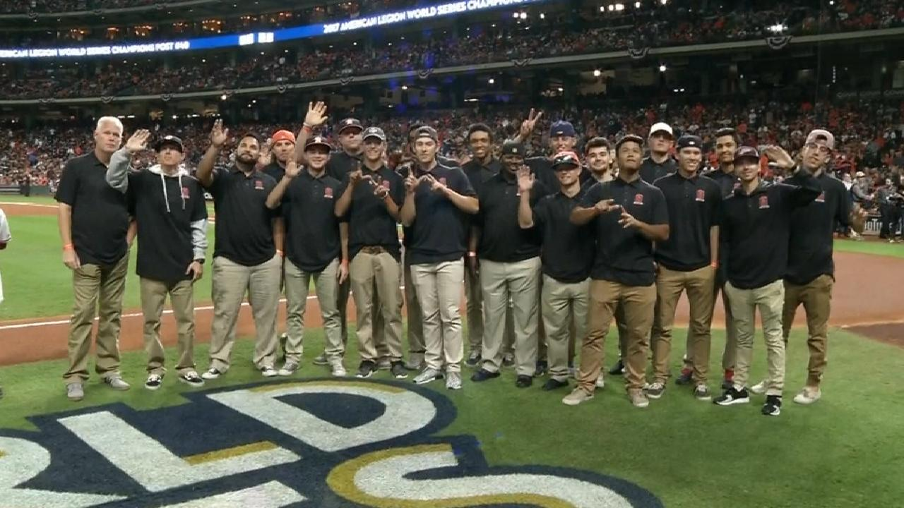Houston youth honored by Astros