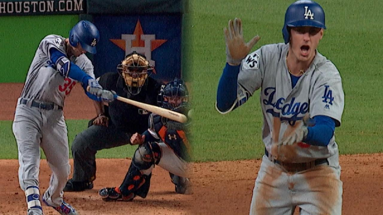 Bellinger's two Game 4 doubles