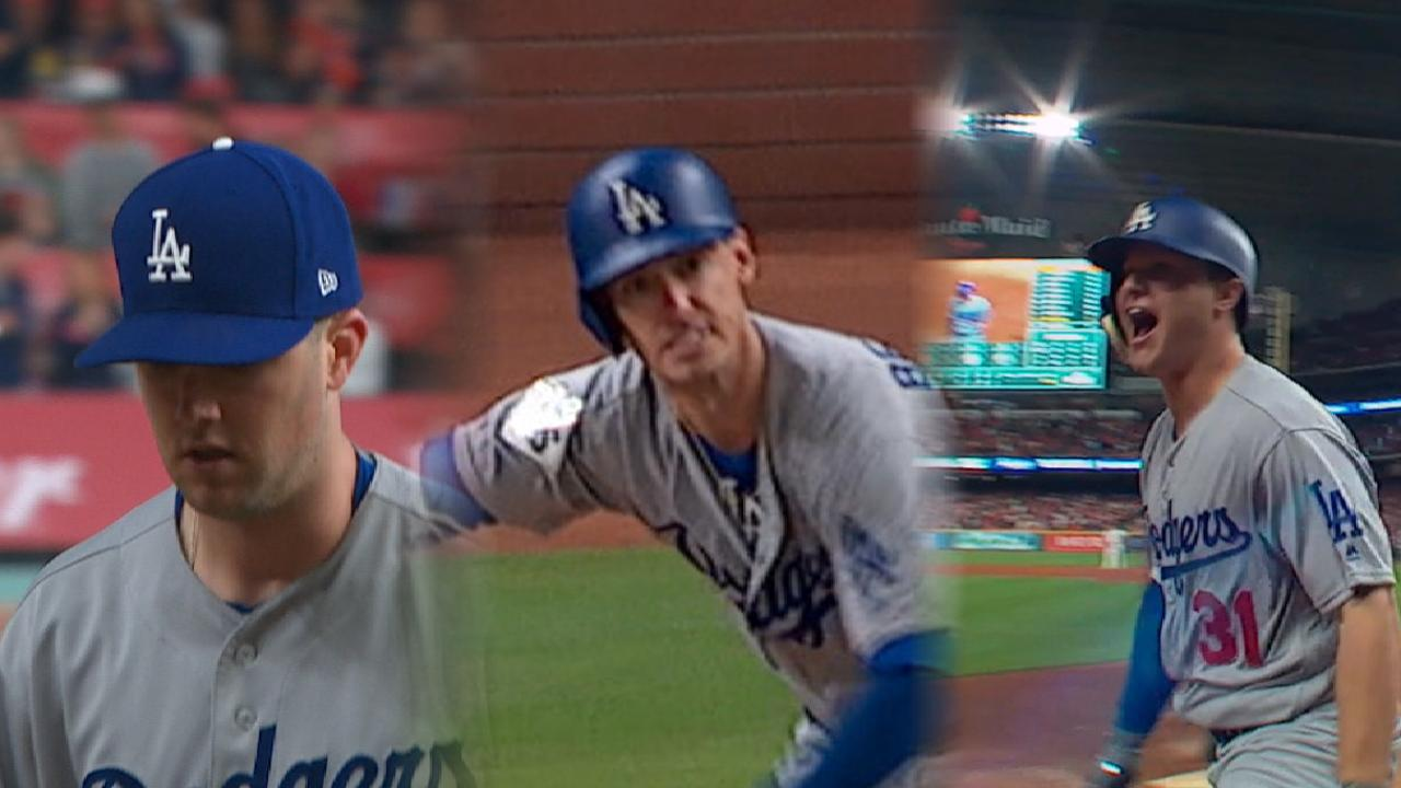 Dodgers win with balanced effort