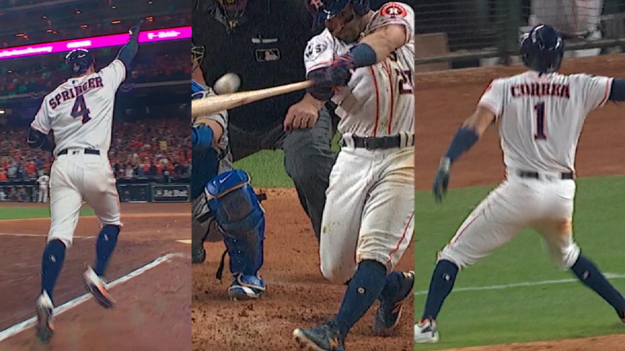 Astros' four-run 7th
