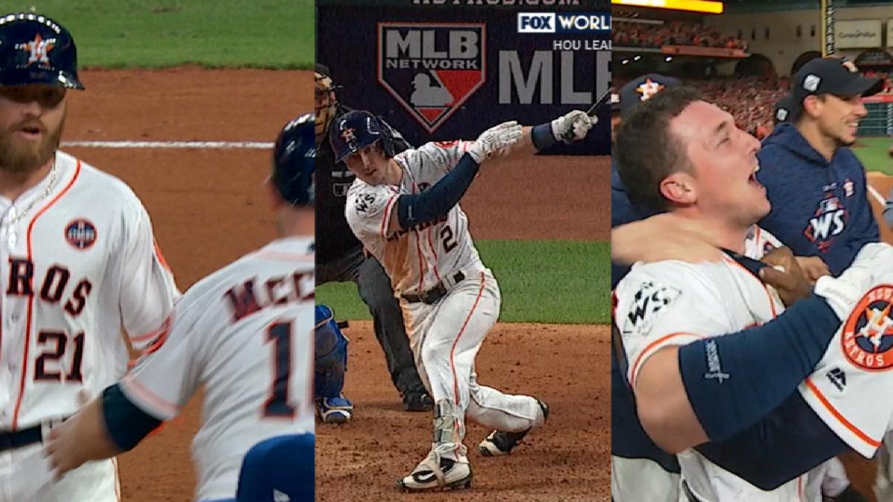 Astros engineer walk-off win