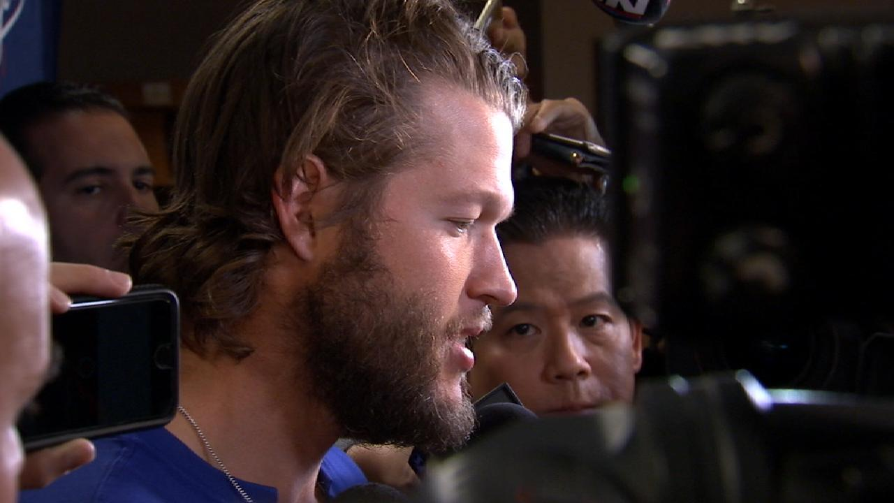 Kershaw on disappointing loss