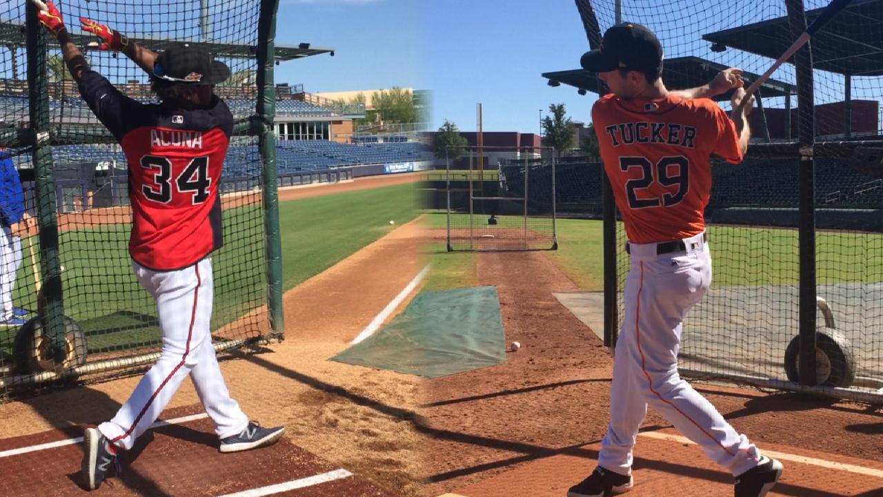 Robles, Acuna highlight Fall Stars Game rosters