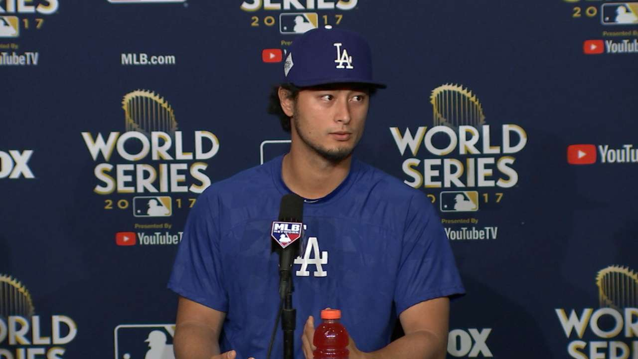 Darvish on the Gurriel incident