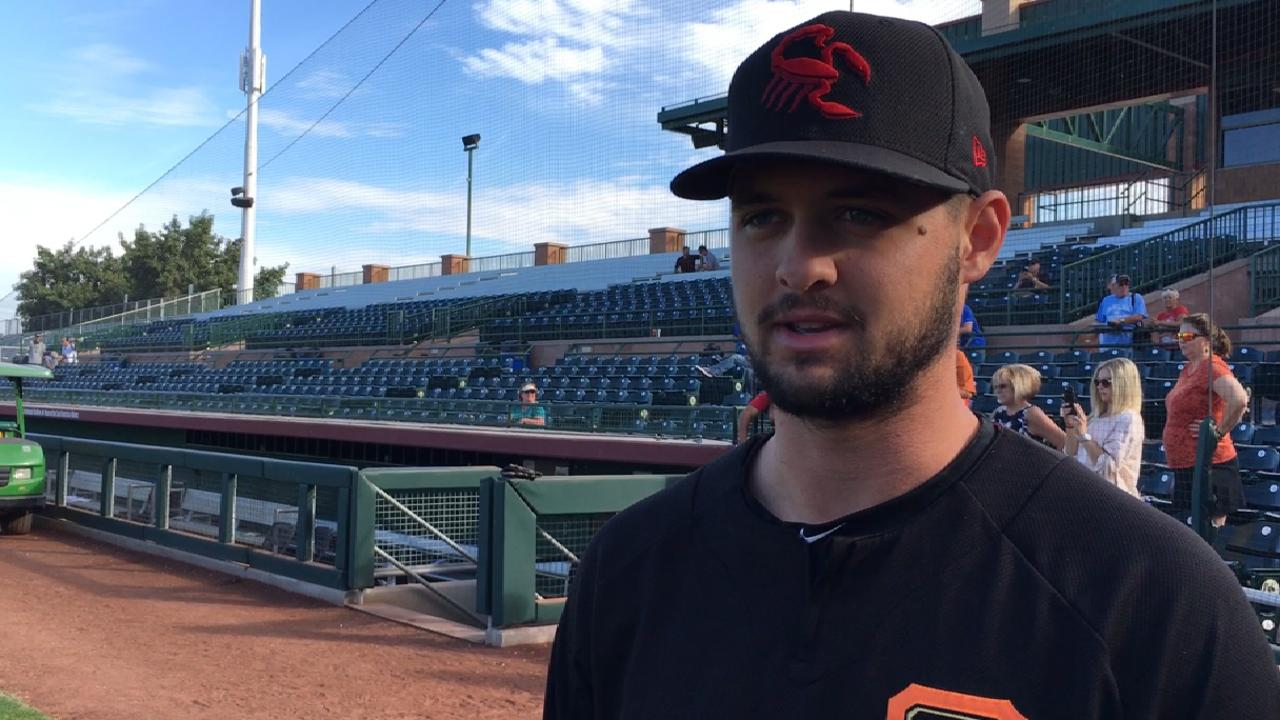 Giants' Beede rides fastball to success for Scorpions