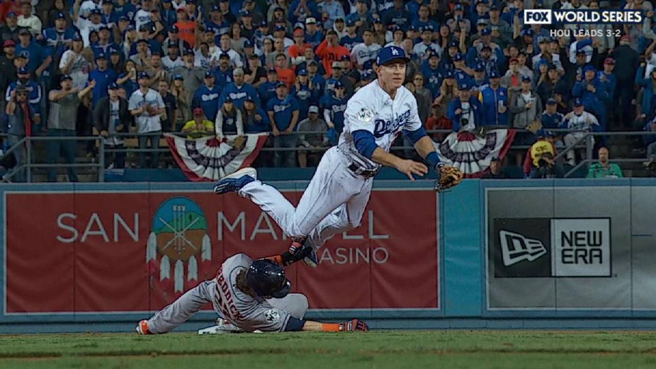 Dodgers challenge slide