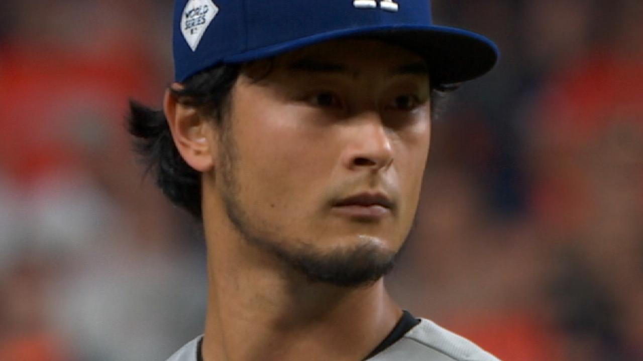 Darvish on emotions for Game 7