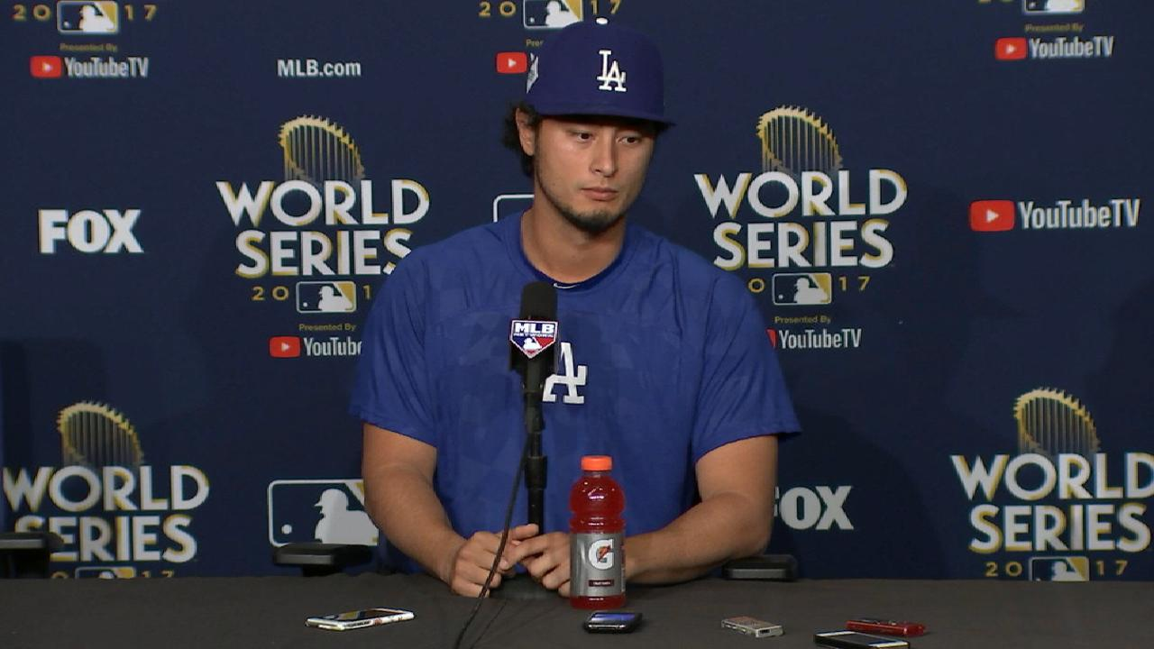 Darvish on starting Game 7
