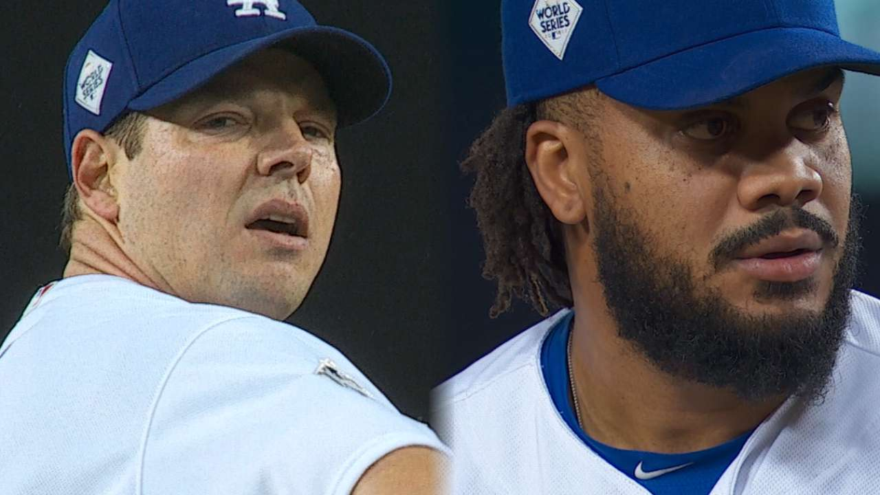 Dodgers' Game 6 pitching