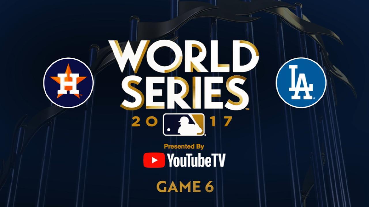 WS2017 Gm6: Dodgers siguen con vida y habrá un Juego 7