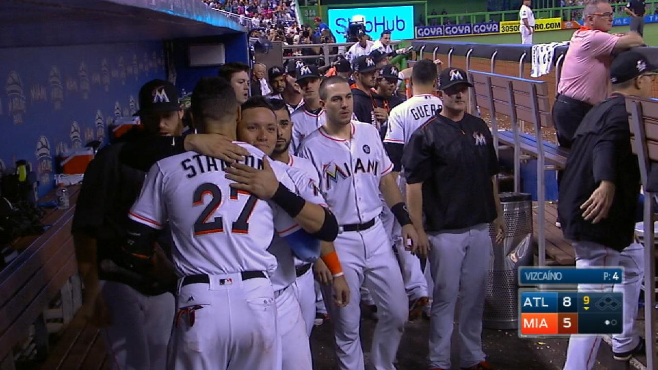 What are Marlins' future plans?