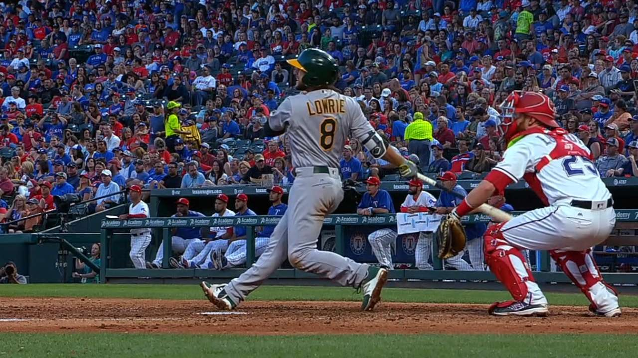 A's exercise Lowrie's $6 million club option