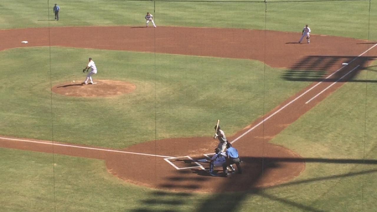 Marlins' Needy deals in Fall League action