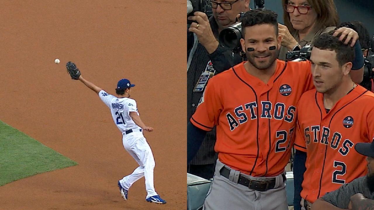 Astros' two-run 1st inning