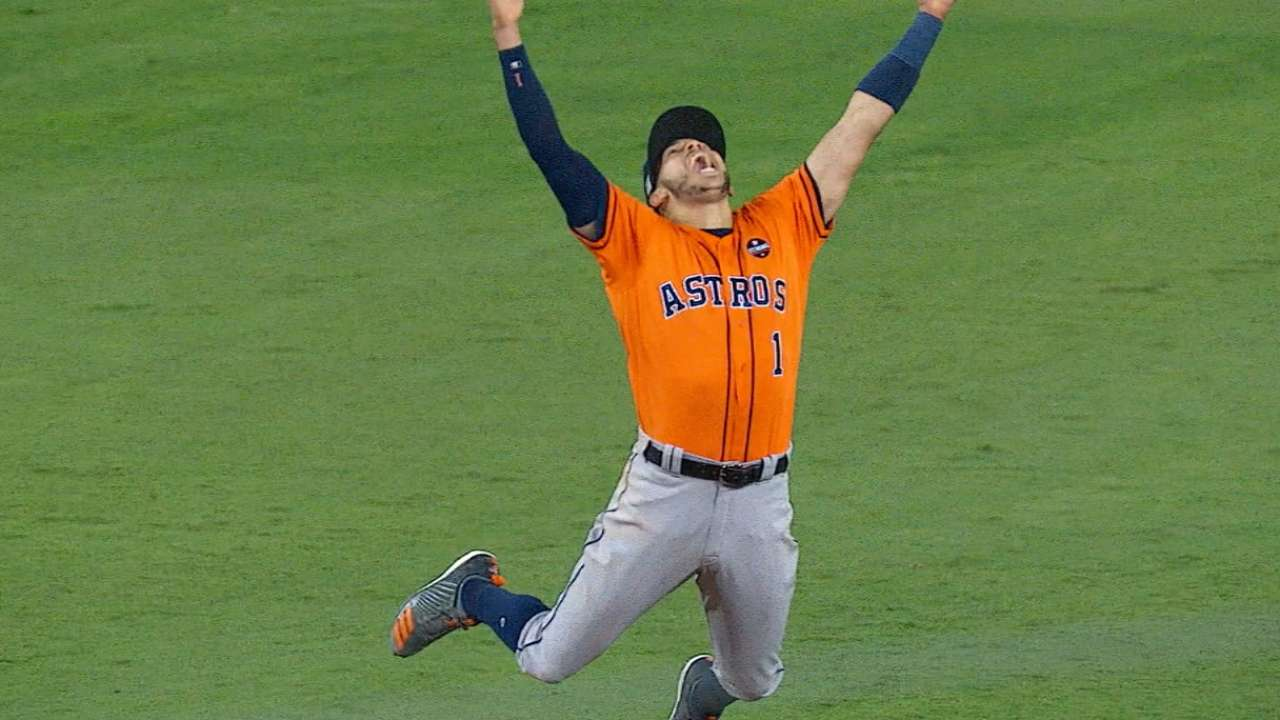 Astros fulfill quest with first World Series title