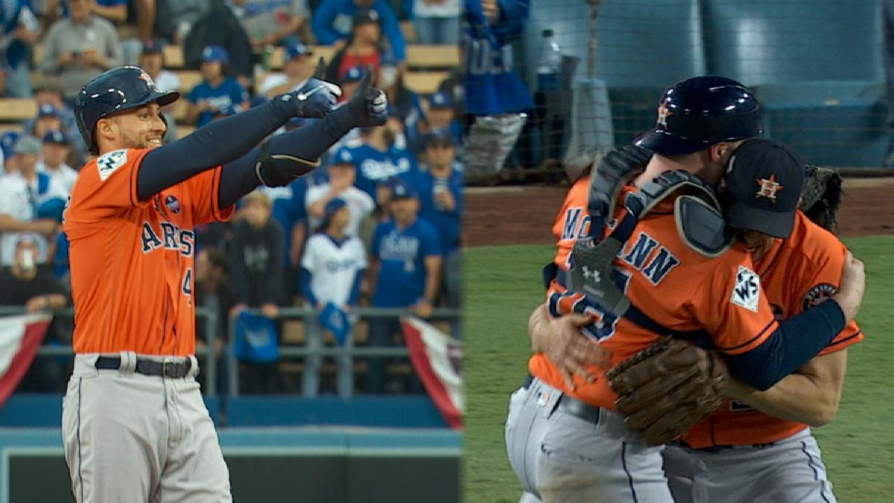 Astros combine for Game 7 win