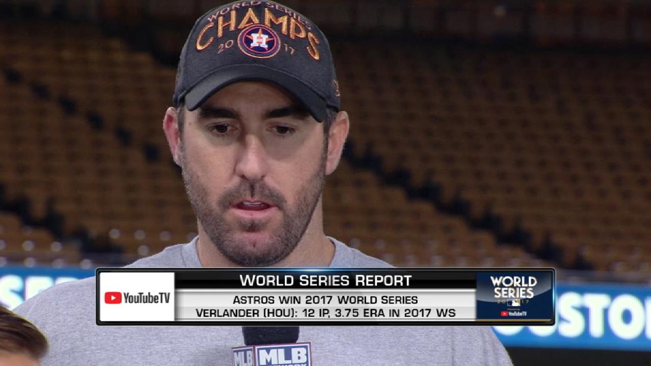 Verlander's resume complete with WS title