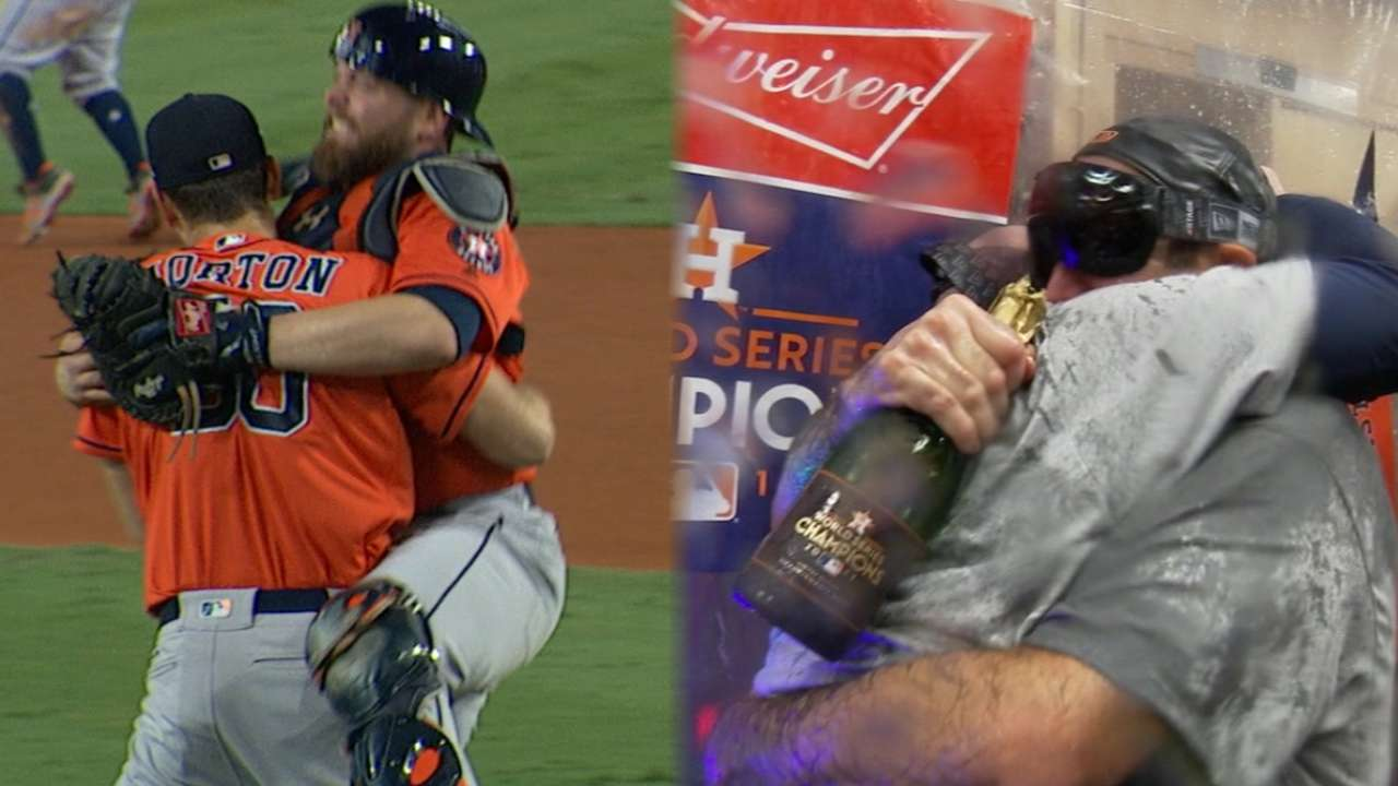 Astros' World Series treasures headed to Hall