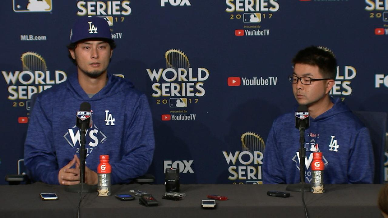 Darvish again can't escape 2nd inning
