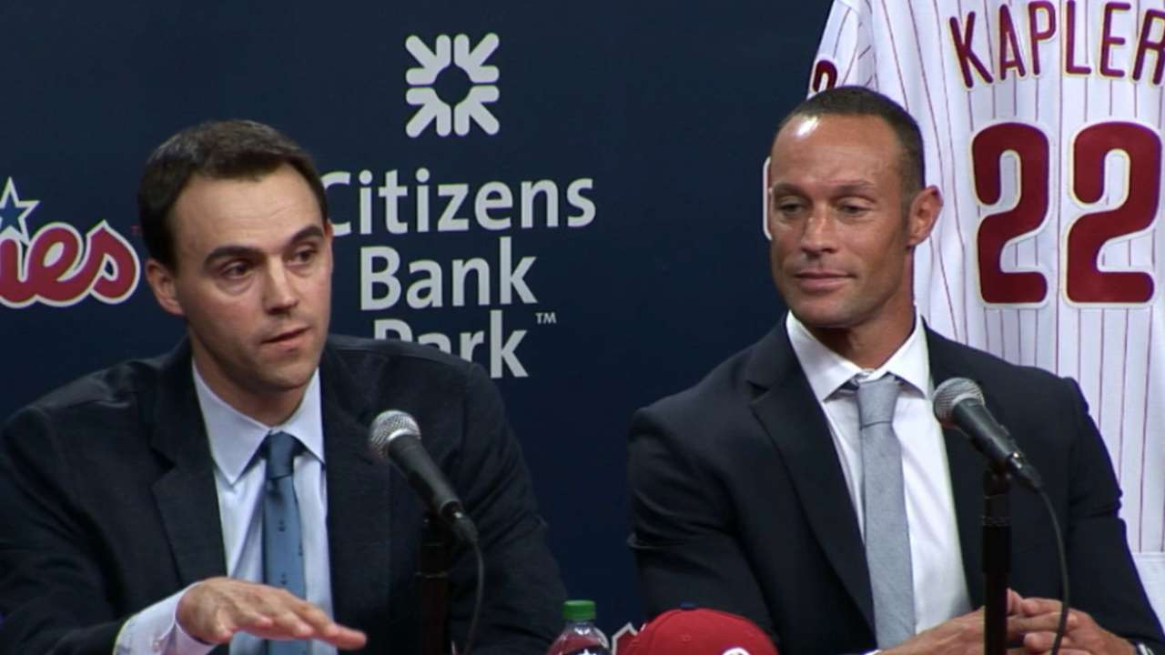 Klentak on hiring Kapler