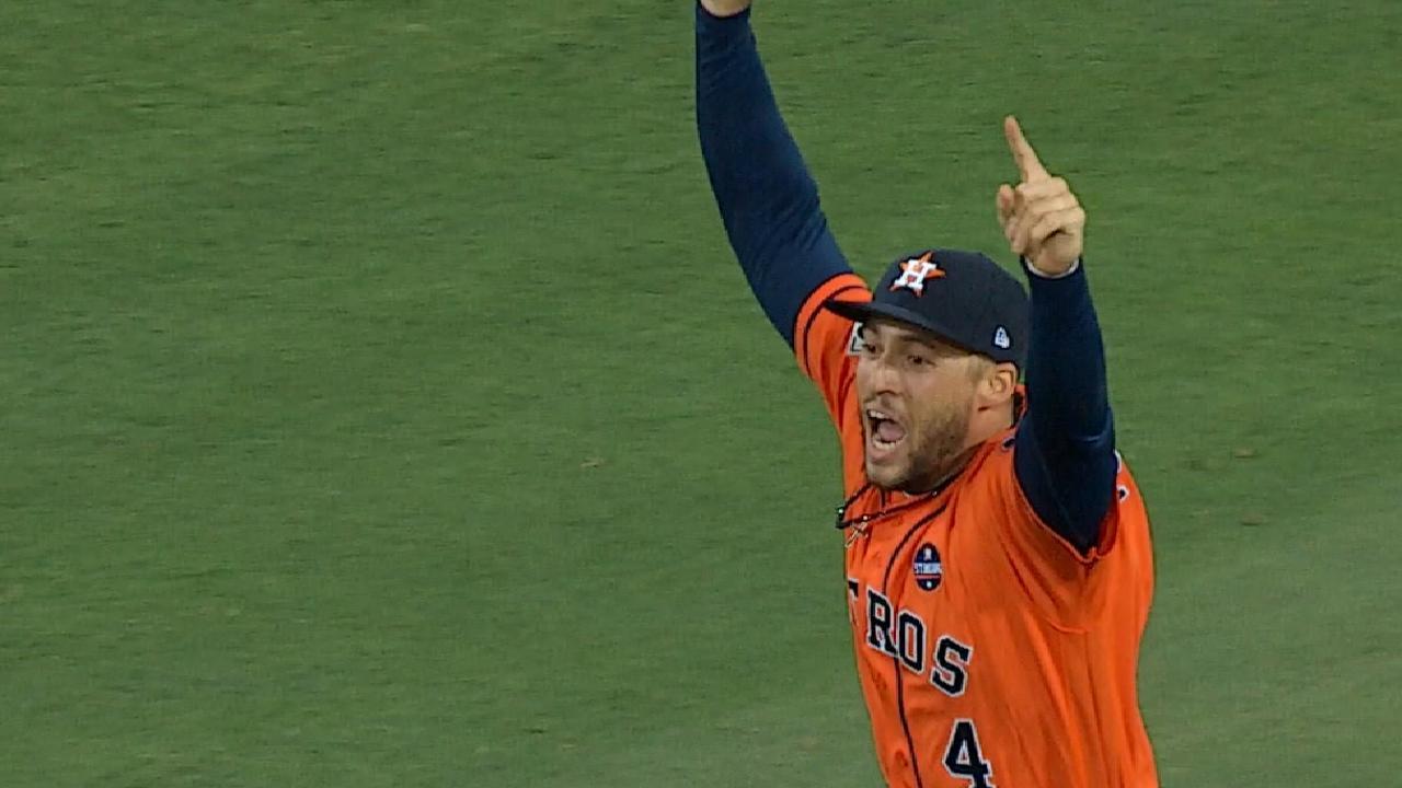 Springer on World Series MVP