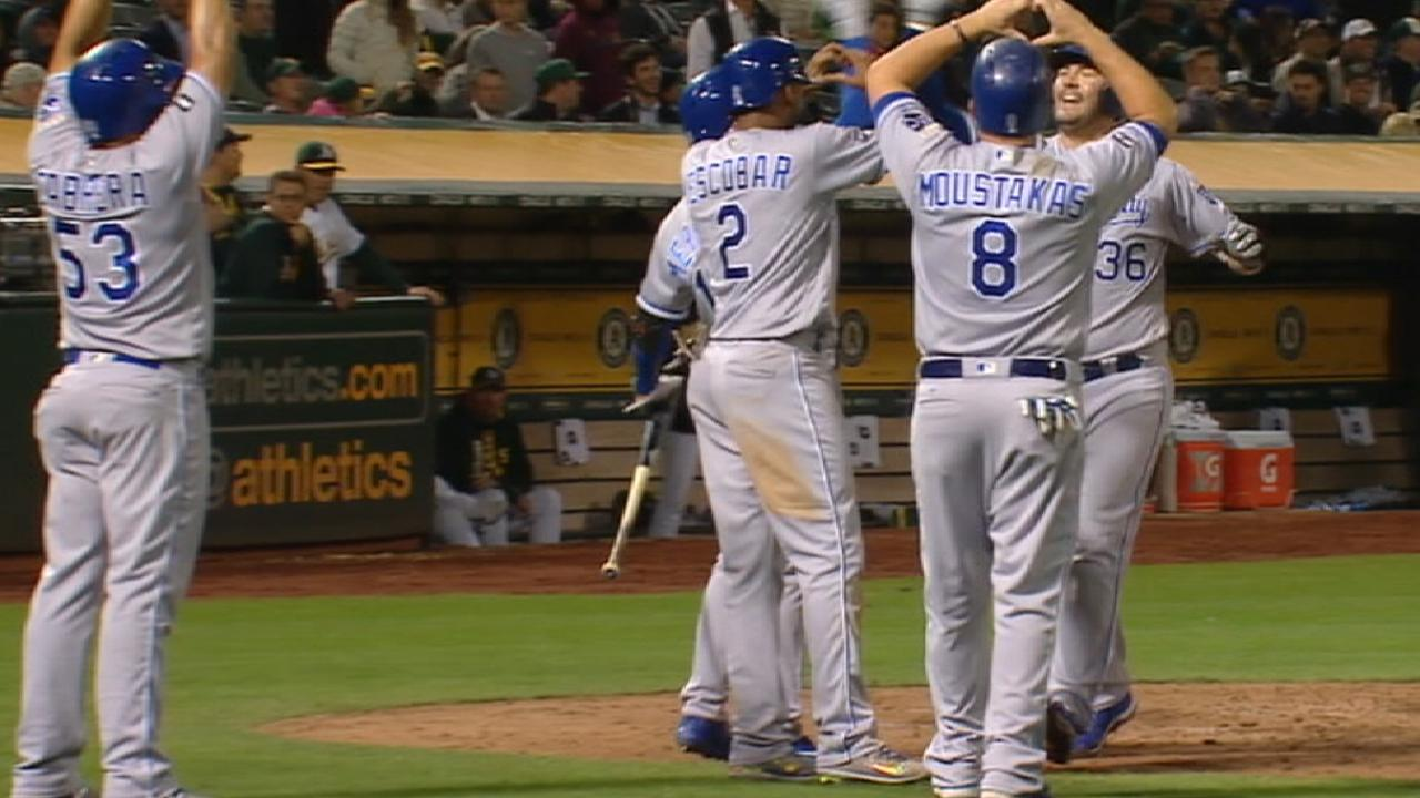 Royals solid core to lead in '18