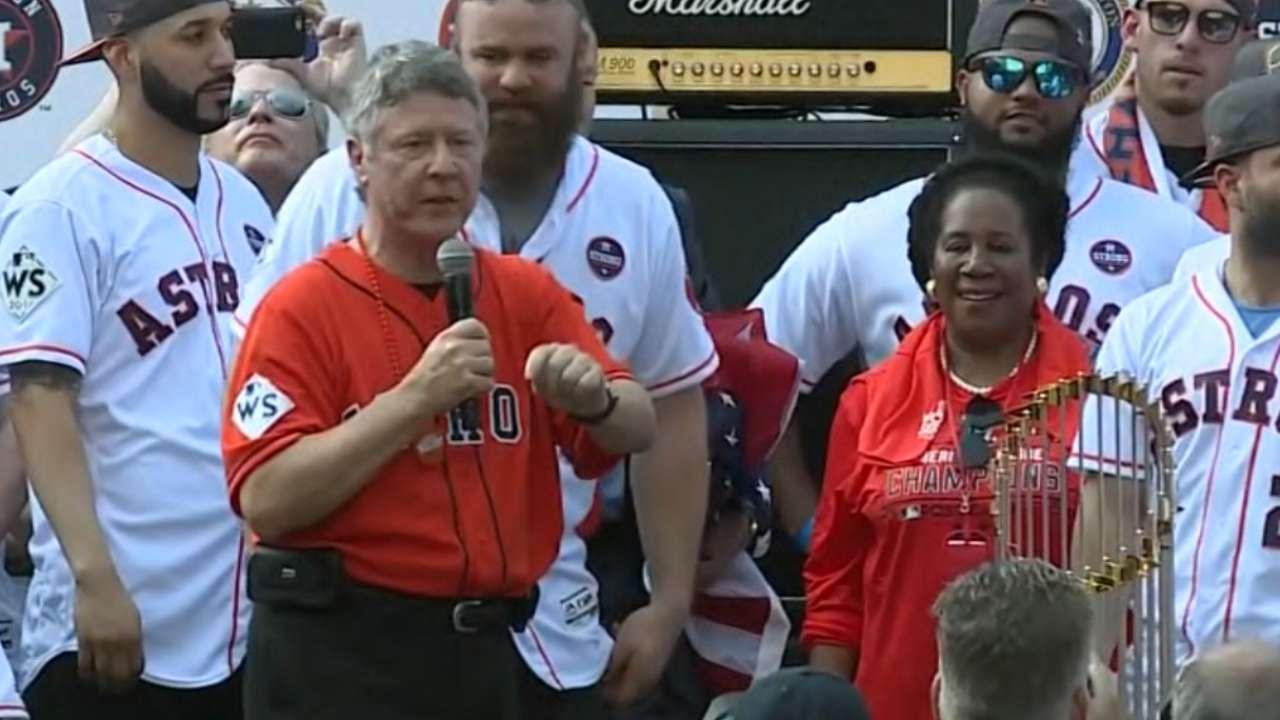 Judge Emmett on Astros' WS win