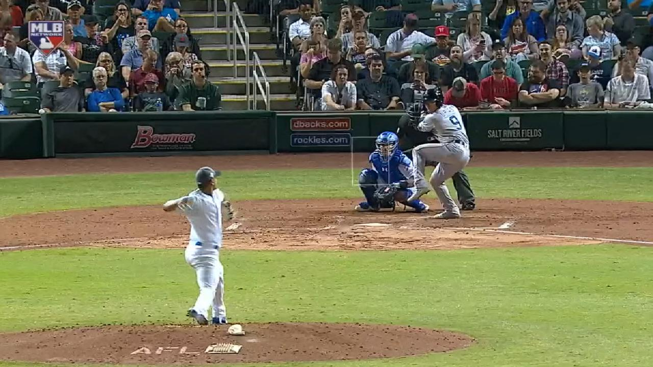 Urias' solo home run