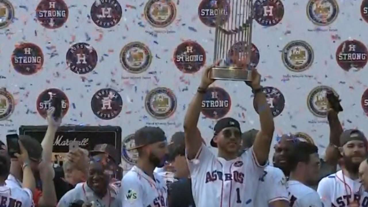 Block party: Parade turnout wows Astros