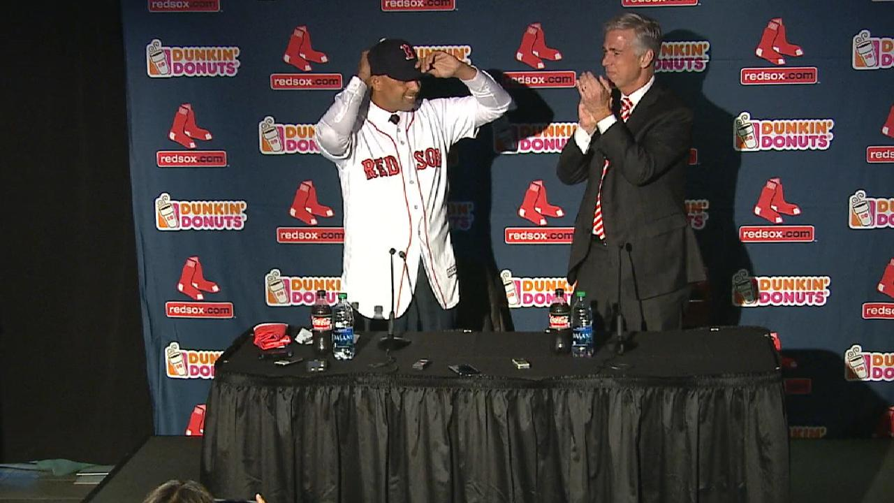 Cora confident as he takes Red Sox skipper job