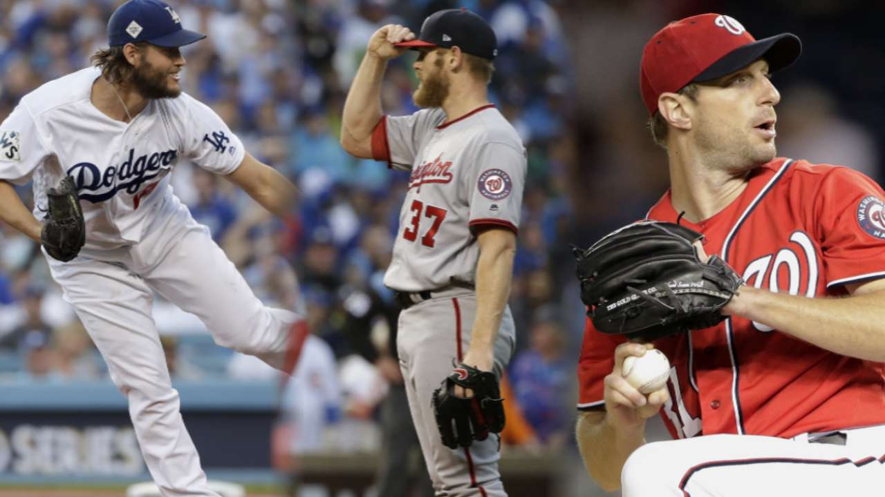 Max, Stras named NL Cy Young Award finalists