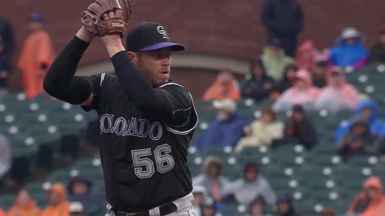 Holland gets Rockies' only qualifying offer