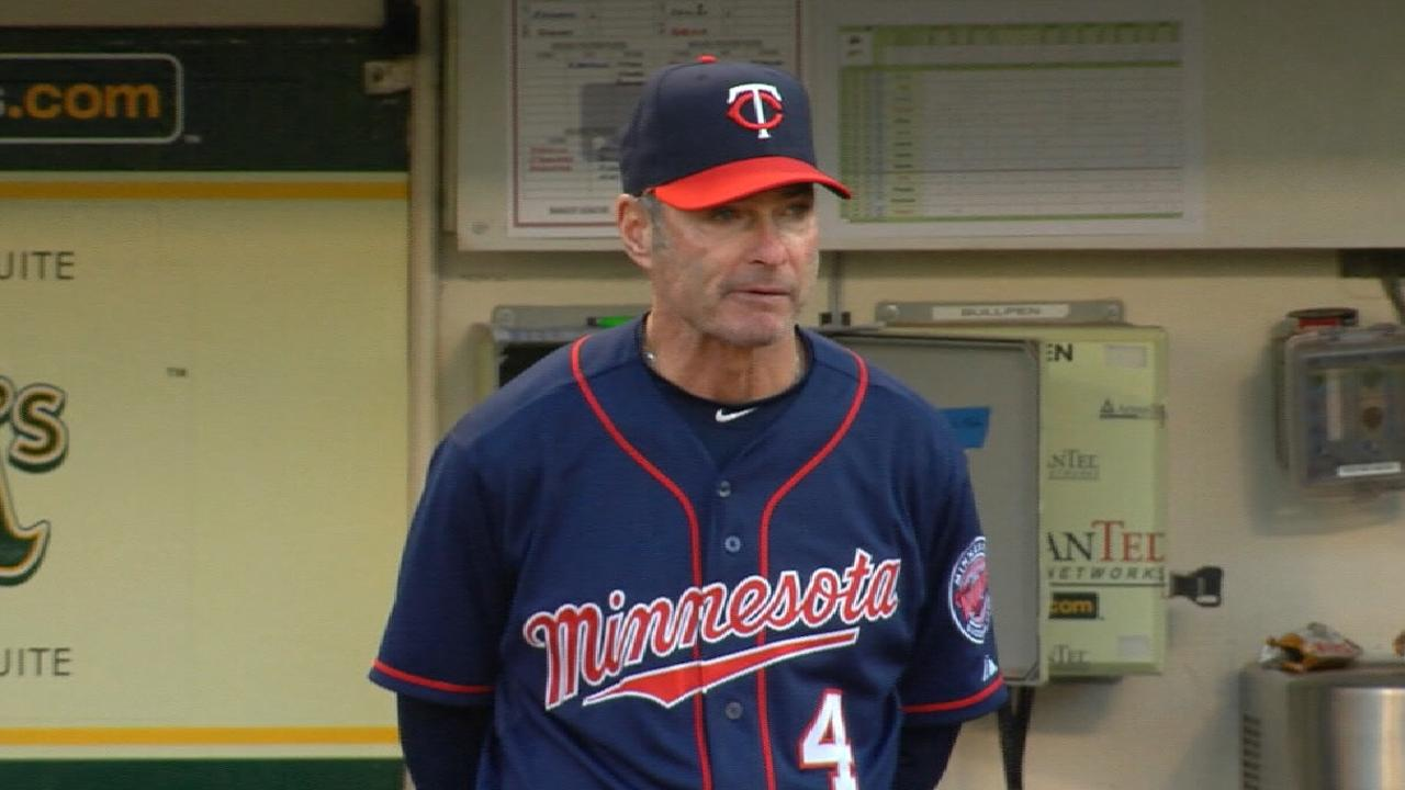 Molitor named AL Manager of Year finalist