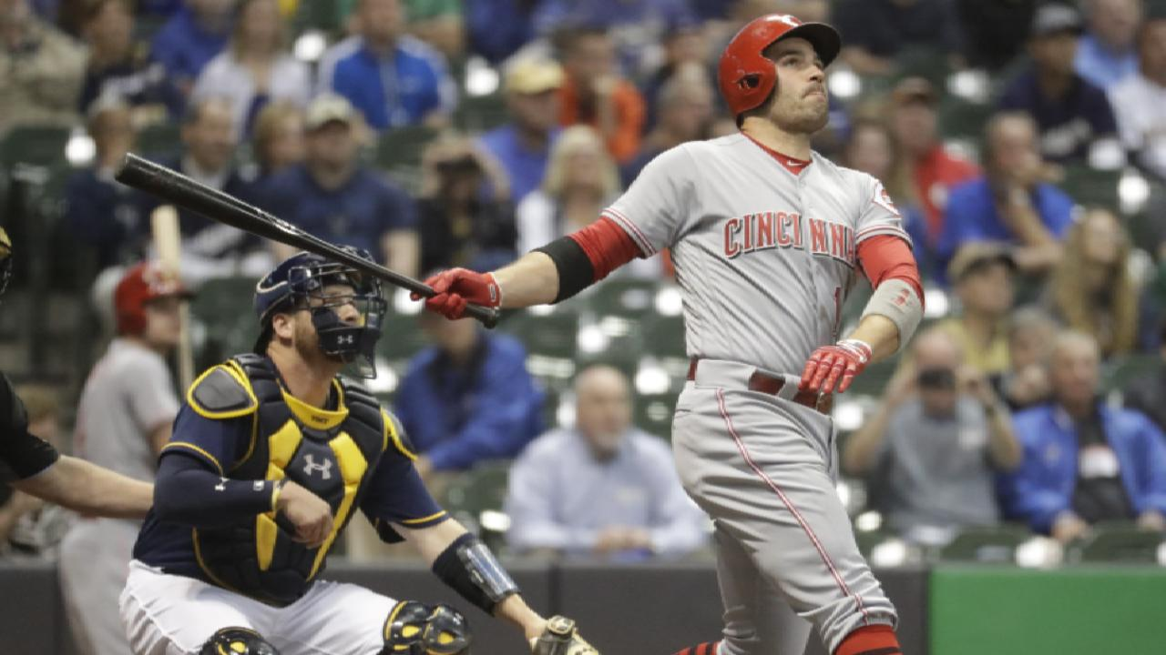 Votto named a finalist for NL MVP Award