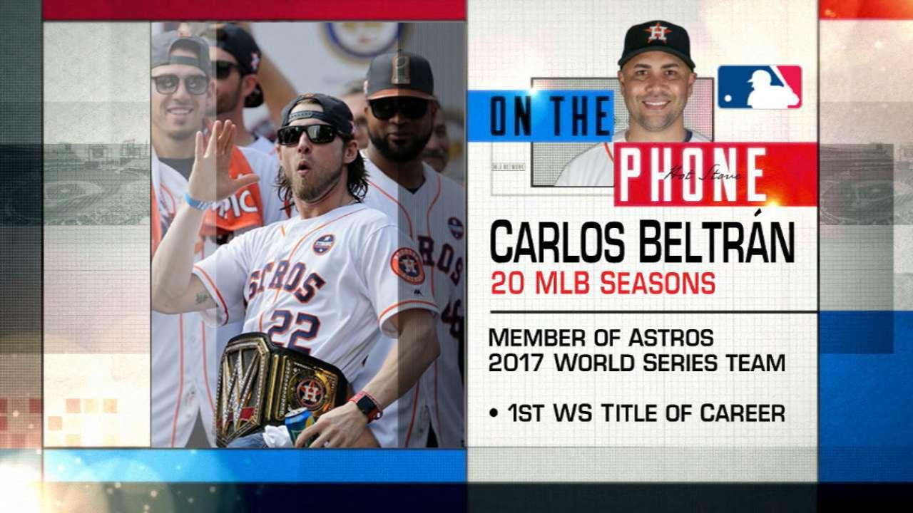 Beltran on winning World Series