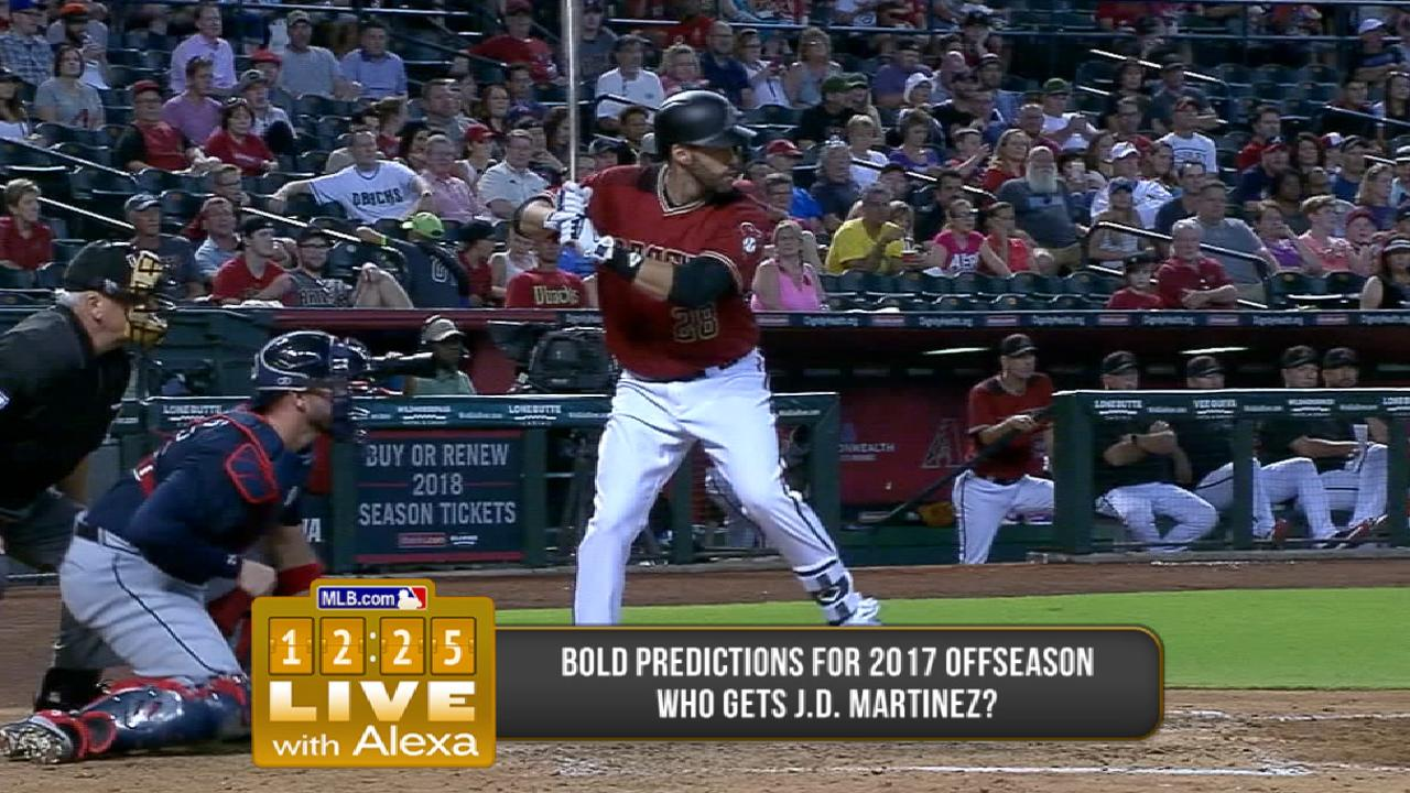 Who will sign J.D. Martinez?