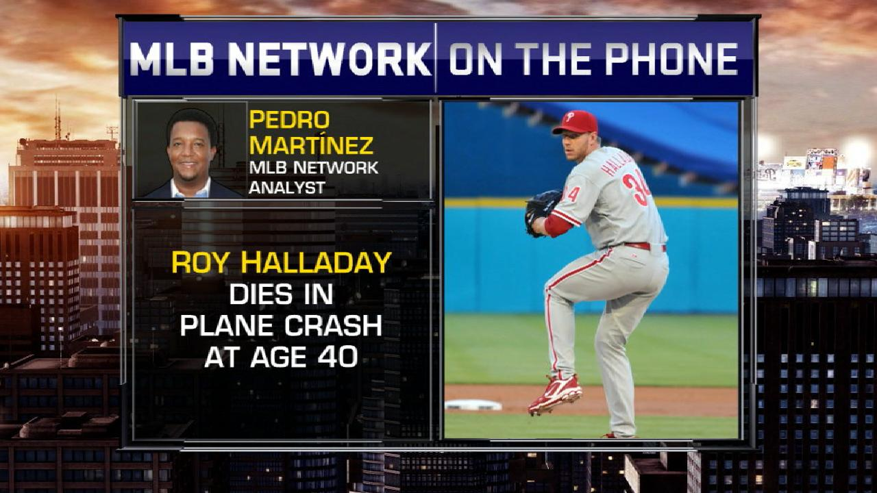 Pedro on Halladay's passing