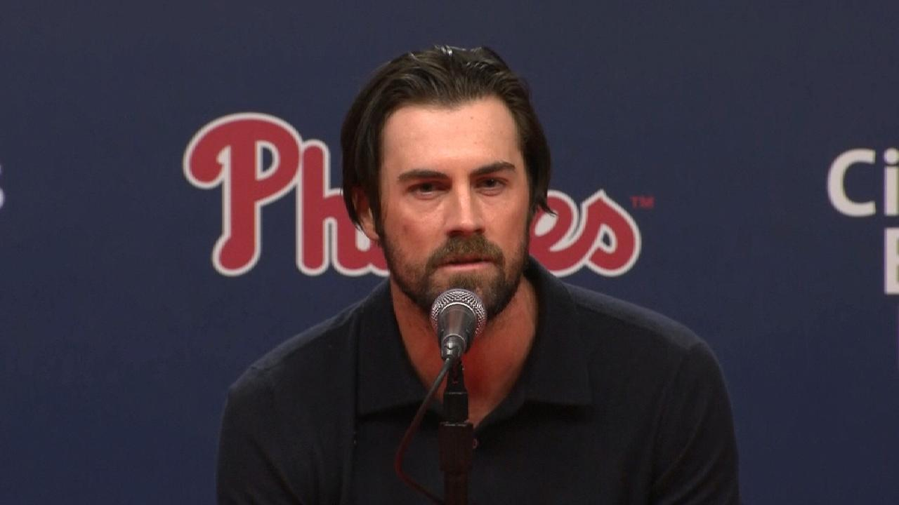 Hamels on the loss of Halladay